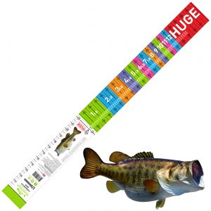 largemouth bass ruler