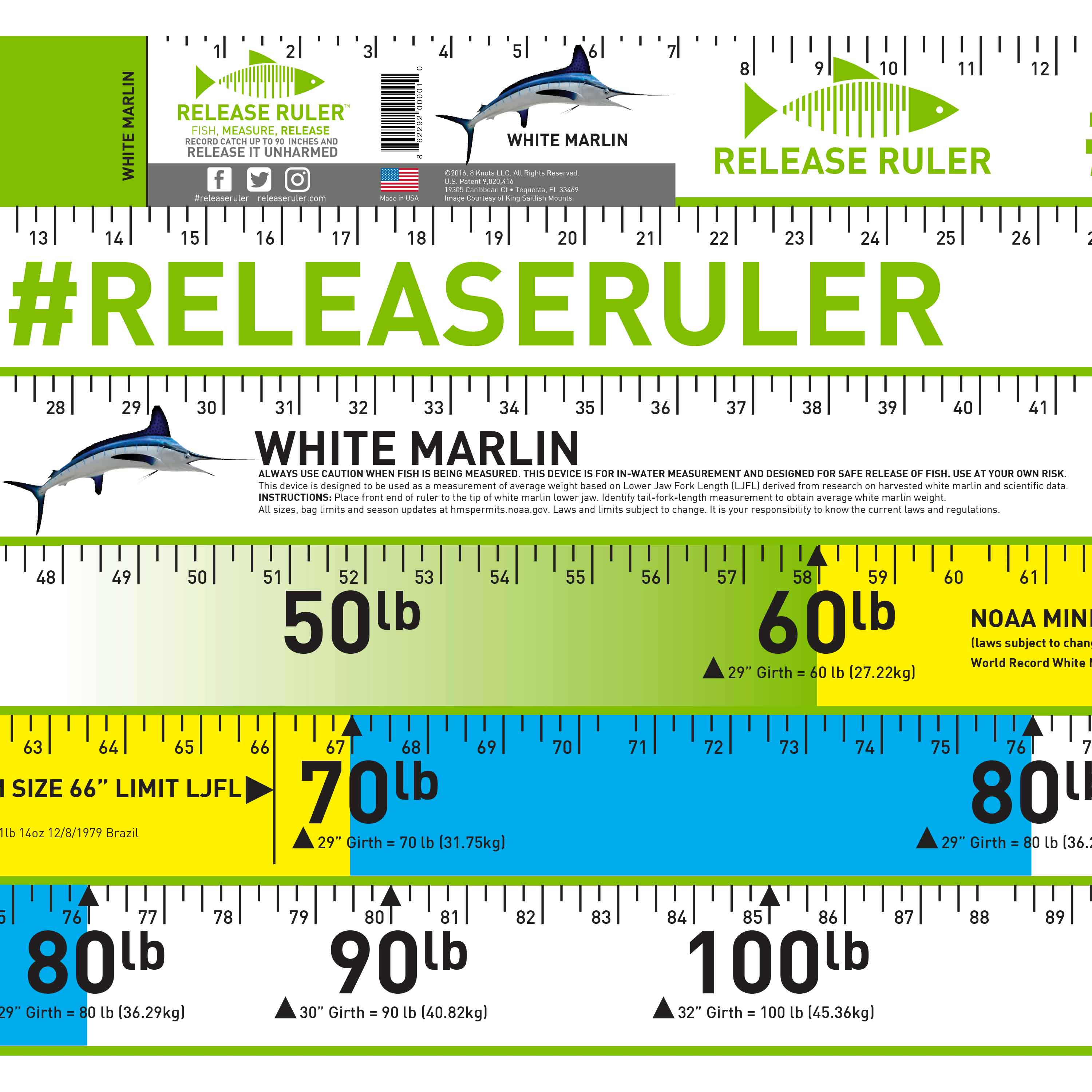 Tarpon release ruler related products nvjuhfo Images