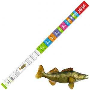 walleye decal ruler