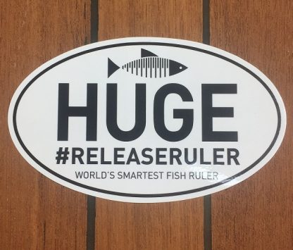 Release Ruler HUGE Sticker