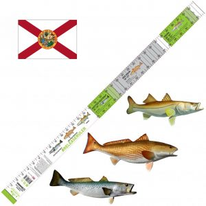 florida inshore slam fish ruler